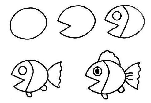 闲暇时间,除了陪孩子看少儿期刊,不妨教孩子画画的,从最简单的小动物